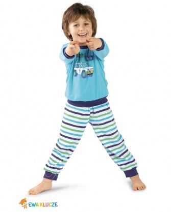 Piżama chłopięca bawełniana