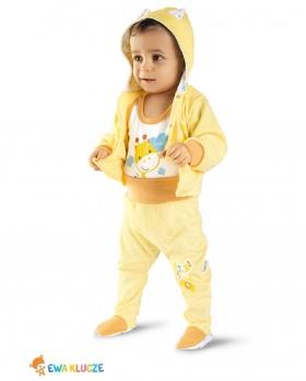 Bluza niemowlęca z kapturem SAFARI