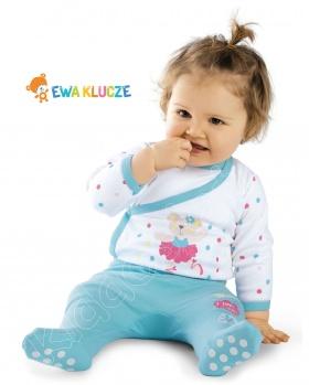 Półspioszki niemowlęce BALERINA