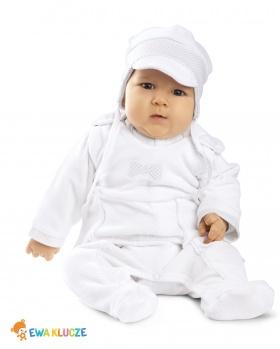 Komplet niemowlęcy kaftanik + śpioszki