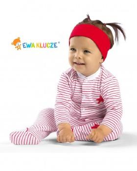 Pajac dla niemowląt z bawełny