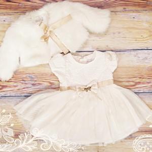 sukienka niemowlęca do chrztu